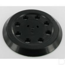 Voetplaat rubber met klitteband productfoto