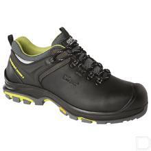 Werkschoen Prato unisex S3 maat 45 laag model zwart / lime productfoto