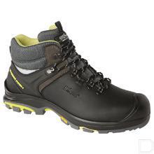 Werkschoen Tundra unisex S3 maat 41 hoog model zwart / lime productfoto