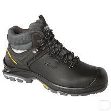 Werkschoen Yucon unisex S3 maat 43 hoog model zwart / grijs productfoto