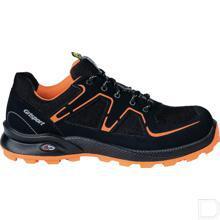 Werkschoen Beat Cross Safety unisex S3 maat 39 laag model zwart / oranje productfoto