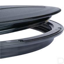 Tankdeksel met ring 455mm (set) productfoto
