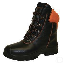 Bosbouwlaars unisex S3 waterproof maat 48 zwart productfoto