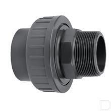 "Koppeling 90mm x 3"" PVC-U productfoto"