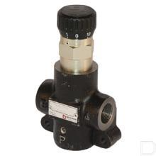3-weg stroomregelventiel M22x1,5 0-65l/min productfoto