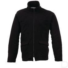 Fleecevest ten behoeve van 40001 maat 58 - 60 / XXL zwart productfoto