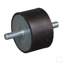 Trillingsdemper type A M10x28 productfoto