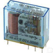 Insteek printrelais 10A 24VDC productfoto