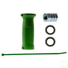 Snelkoppeling handgreep groen Buitendraad/Binnendraad 1/2 BSP productfoto