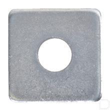Vierkant sluitplaat M22 verzinkt DIN436 productfoto