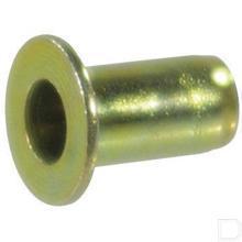 Blindklinkmoer M4 geelgep productfoto