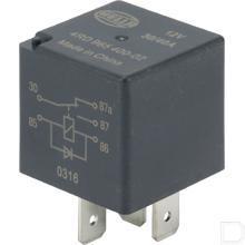 Wisselrelais 5 aansluitingen 12V 30/40A  productfoto
