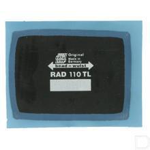 Radiaalpleister 110TL 55x75mm productfoto