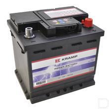 Start accu gevuld 12V 45Ah 400A 207x175x190mm bodembevestiging B13 pooluitvoering 1 productfoto