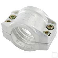 Klemschalen 32x6mm Aluminium productfoto