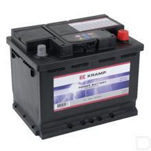 Start accu gevuld 12V 56Ah 480A 242x175x190mm bodembevestiging B13 pooluitvoering 1 productfoto