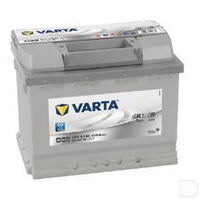 Start accu Silver Dynamic 12V 63Ah 610A 242x175x190mm bodembevestiging B03 pooluitvoering 1 productfoto