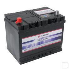 Start accu gevuld 12V 68Ah 550A 261x175x220mm bodembevestiging B01 pooluitvoering 1 productfoto