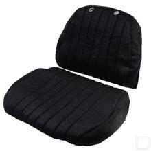 Zittinghoes stof zwart productfoto