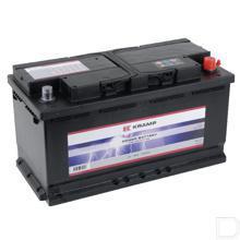 Start accu gevuld 12V 90Ah 720A 353x175x190mm bodembevestiging B13 pooluitvoering 1 productfoto