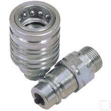 Snelkoppeling 1/2 CPV08 38 GAS F Vrouwelijk productfoto