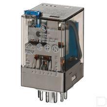 Fin Relais 3W 10A, 12VDC productfoto