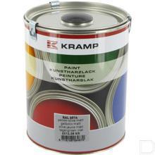 Kunstharslak RAL6014 legergroen mat 1L productfoto