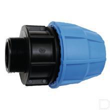"""S16 Tyleen koppeling 50mm x 1.1/4"""" buitendraad PP productfoto"""