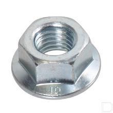 Flensmoer M5 verzinkt DIN6923 productfoto