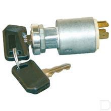 Contactslot Ø30,3mm functies 0/1/2/3 met herstartblokkering 4 stekkeraansluiting 12V productfoto
