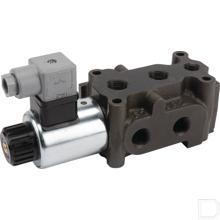 """6/2 ventiel 3/8"""" 50l/min 24V productfoto"""