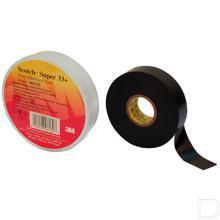 Tape vinyl 29mm x 2000cm zwart productfoto