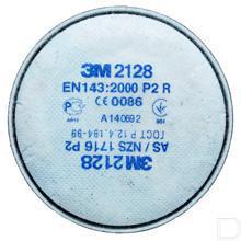 Stoffilter 2000 P2R tot 10 keer MAC / BG waarde 2 stuks productfoto