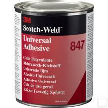 847 Rubber- en pakkinglijm met hoge prestaties 150 ml, bruin productfoto