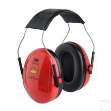 Gehoorbeschermer voor kinderen Princess SNR 27dB rood productfoto