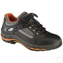 Werkschoen unisex S3 maat 46 laag model zwart / oranje productfoto