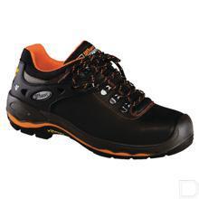 Werkschoen unisex S3 maat 44 laag model zwart / oranje productfoto