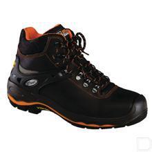 Werkschoen unisex S3 maat 44 hoog model zwart / oranje productfoto