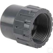"Verloopstuk PVC 25/32mm x 3/4"" productfoto"