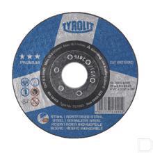 Doorslijpschijf premium staal-RVS 178x3,5 productfoto