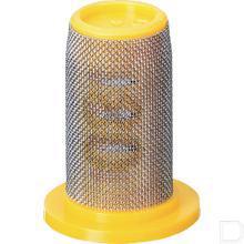 Dopfilter 80 mesh geel productfoto