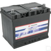 Semi tractie accu 12V 75/60Ah  productfoto
