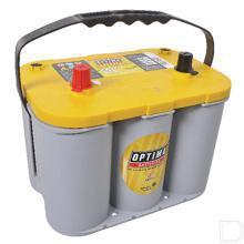 Semi tractie accu Yellowtop YTS4,2 12V 55Ah 254x172x200mm bodembevestiging B00 pooluitvoering 1 productfoto