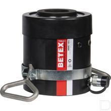 Hydrauliek cilinder enkelwerkend Ø125mm stang Ø165mm boring 76mm slaglengte 700bar NSHS1003 productfoto