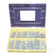 Assortiment metaalschroeven DIN84 productfoto