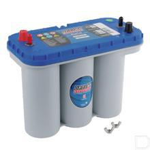 Accu Optima Blue BTDC - 5.5 12V 75Ah 325x165x200mm bodembevestiging B00 pooluitvoering 1 productfoto
