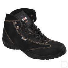 Werkschoen dames S3 maat 36 hoog model zwart productfoto