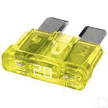 Zekering 20A geel productfoto