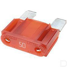 Steekzekering Maxi 50A rood productfoto