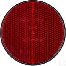 Reflector rond rood productfoto